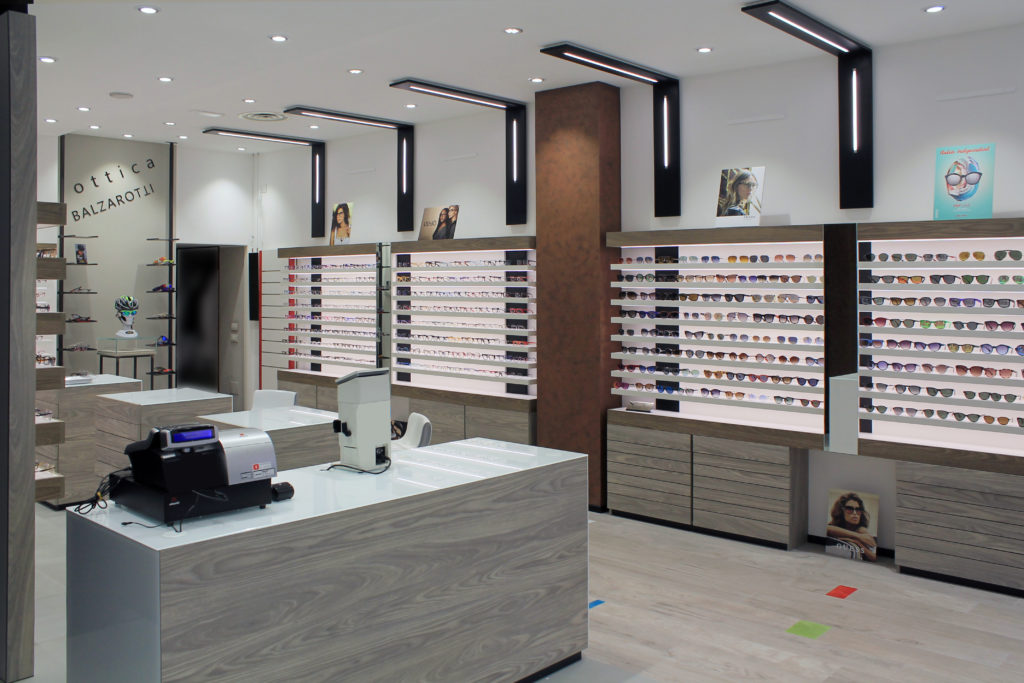arredo per ottica - shopfittings for optical