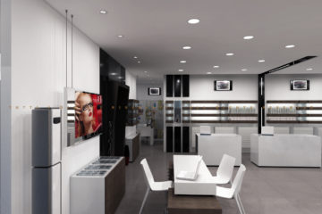 Arredamento ottica - optical furniture