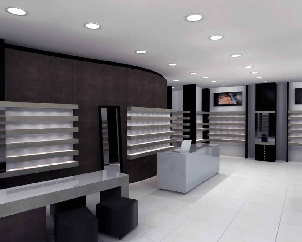 arredi per ottica - decoration for opticals