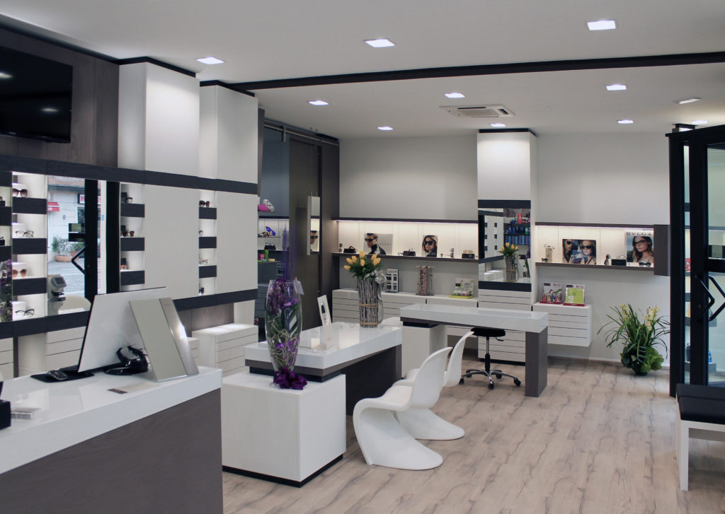 arredamento per centri ottici - furnishing for optical centers