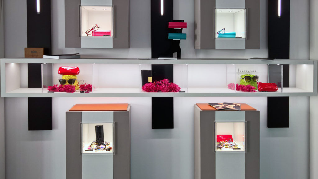 arredamento ottica - optical shopfittings